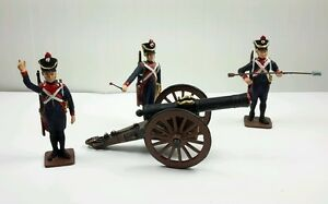 New Vintage Reeves #FAS -1 FRENCH ARTILLERY SET 1804-1812 1/32 (54mm)