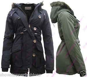 Nouvelle-FILLES-parka-veste-manteau-rembourre-a-capuche-vetements-filles-age-7-8-9-10-11-12-13