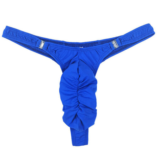 Mit Schnalle Slip T-Rücken Unterwäsche String G-String Unterhose Pouch Bikini