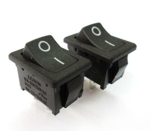 2PC×10A SPST Rocker Switch ON-OFF 19×13mm