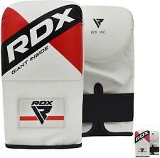 RDX Guantes de boxeo Puñetazo Cuero Boxing Gloves Punch Entrenamiento Muay Thai