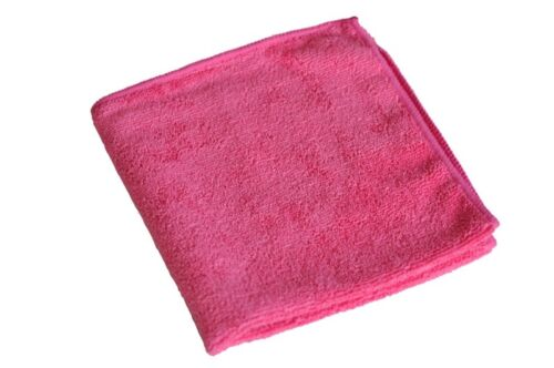 20 x Universal Poliertuch Putztuch Microfasertuch Tücher  rot 40x40