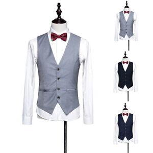 heiß-verkaufendes echtes letzte Veröffentlichung glatt Männer Anzug Weste Geschäft Formell Jacke Smoking Sakko ...