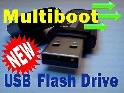 Puppy All in one Linux Mint 14 Ubuntu Multi boot USB Flash Drive Zorin New