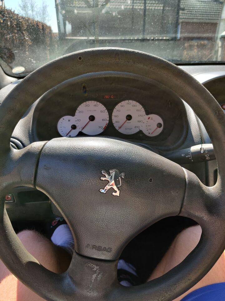 Peugeot 206, 1,4 XR, Benzin