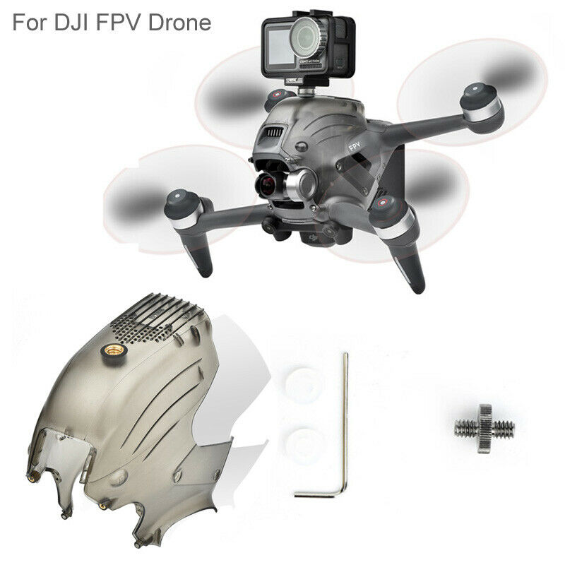 Top Shell Body Upper Cover With 1/4 Screw Hole & Cooling Holes for DJI FPV Drone