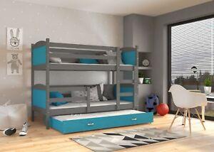 Etagenbett Für 3 : Kinderbett mati etagenbett hochbett betten bett stockbett mit