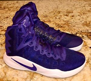 online store 16482 5959c Image is loading NIKE-Hyperdunk-2016-Court-Purple-White-Basketball-Shoes-