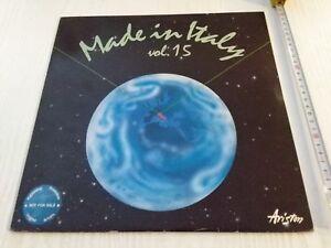 Made-in-Italy-vol-15-LP-Ariston-1988-Ottime-Condizioni-Bruno-Martino