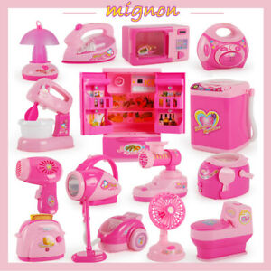 Girls-Pretend-Role-Play-Simulation-ELECTRIC-Household-Appliances-Kids-Toys