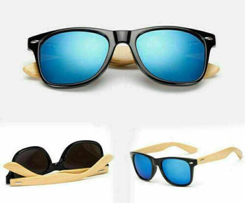 Sunglasses Men Women Bamboo Retro Vintage Fashion Party Sun Glasses UV400 Decor