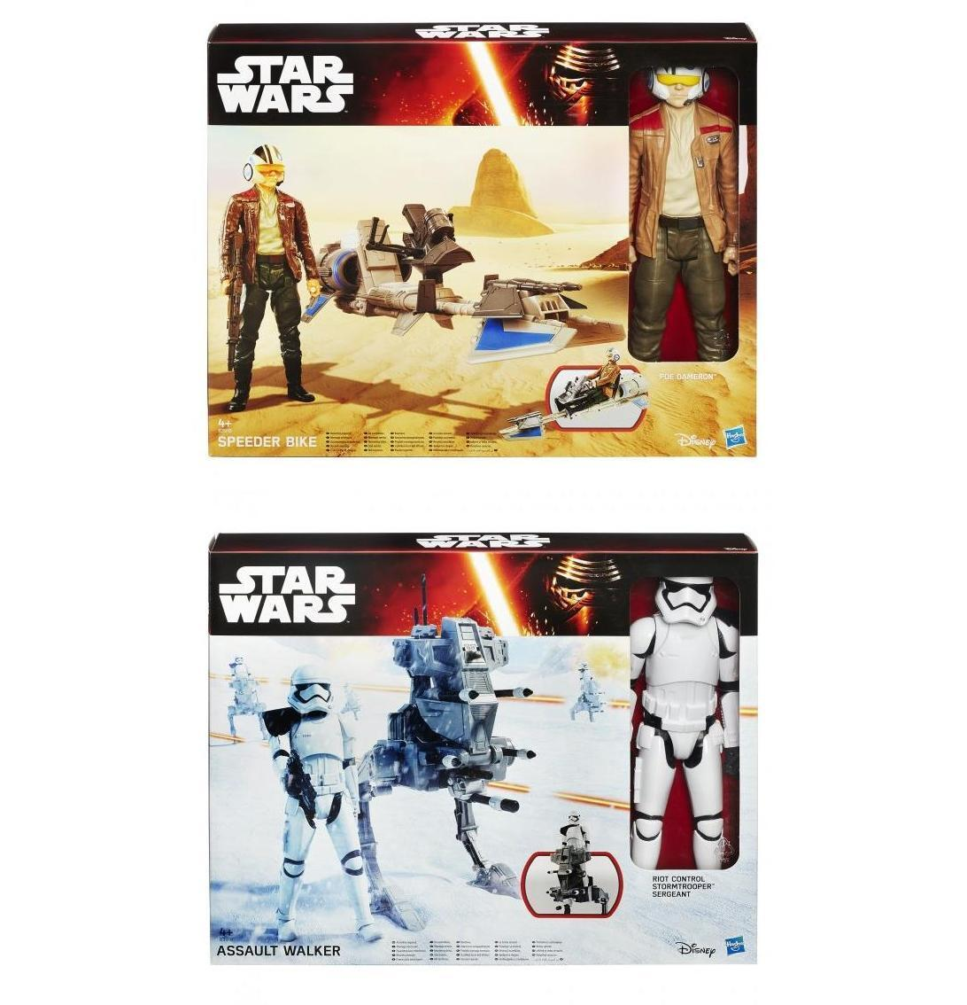 Official Star Wars 12 Inch Hero Series Figure & Vehicle NEW