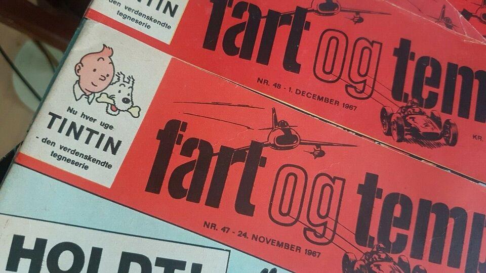 Bøger og blade, Tintin Fart og Tempo