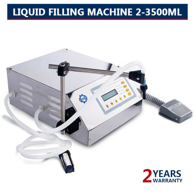 Liquid Filling Machine GFK160 Automatic Digital Control Bottle Filler 2-3500ml