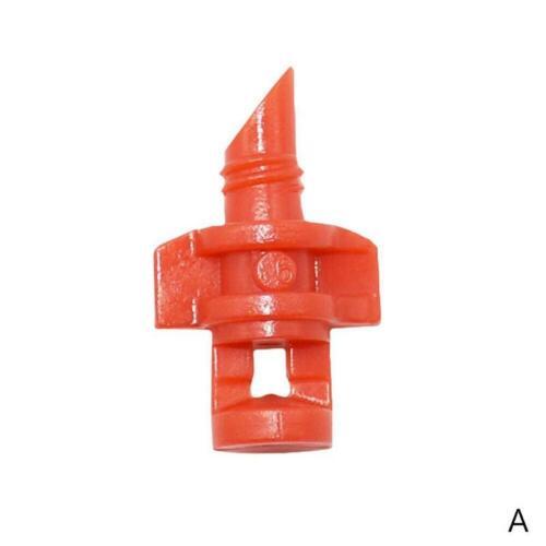 20 Pcs Micro Garden Lawn Water Spray Misting Nozzle Sprinkler Irrigation