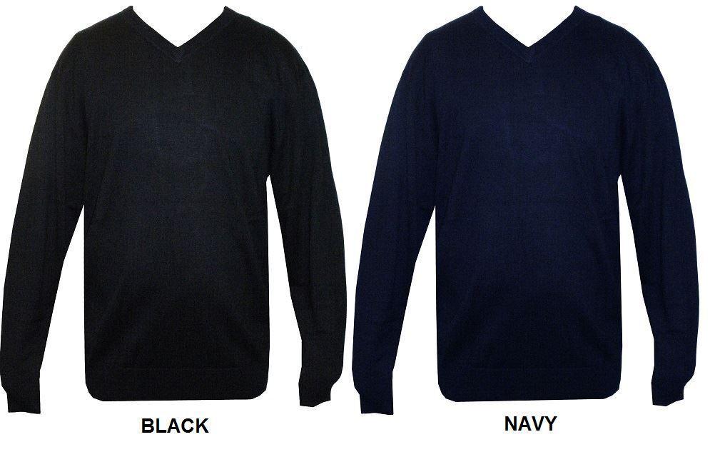 Kam Algodón Premium Largo Suéter Cuello en V (008b ), Taille 2xl-8xl,