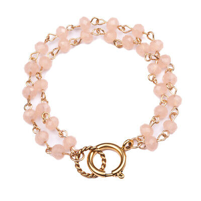 Beaucoup Designs Luxe 6mm Blush Beaded