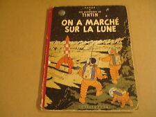 BD EO HC 1954 / TINTIN - ON A MARCHÉ SUR LA LUNE