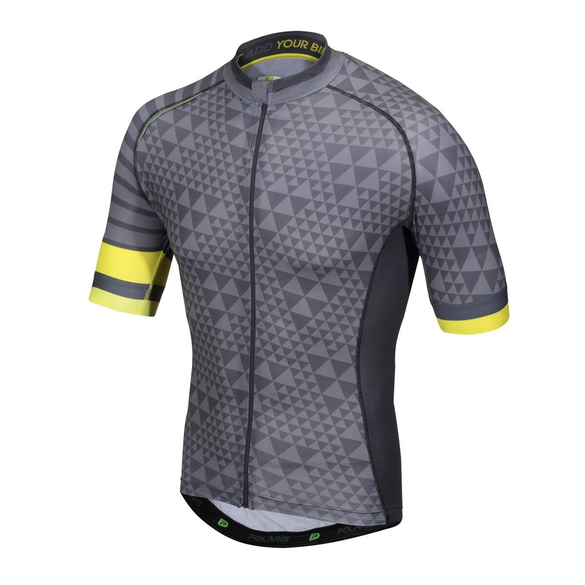 Polaris Geo Road Cycling Jersey Short Sleeve Slate Charcoal Size M RRP UK
