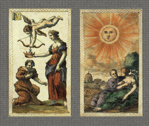 MINCHIATE FIORENTINE ETRURIA 1725 REPLICA TAROT CARDS - LTD ED *NIB*