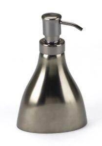 Seifenspender-Lotionspender-Umbra-RAIN-Keramik-Metalloptik