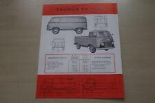 178792) Ford Taunus FK 1000 - Belgien - Prospekt 1956