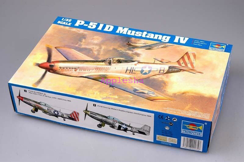 Trumpeter 02275 1 32 P-51D Mustang IV