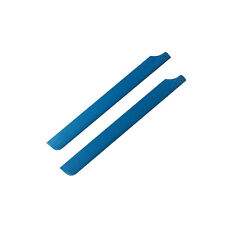 325mm Glass Fiber Main Rotor Blade Blue&White for Trex align 450 rc Helicopter I
