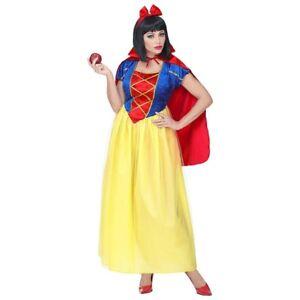 Kostüm Schneewittchen Märchen Prinzessin Kleid Karneval Fasching Gr L 42 44