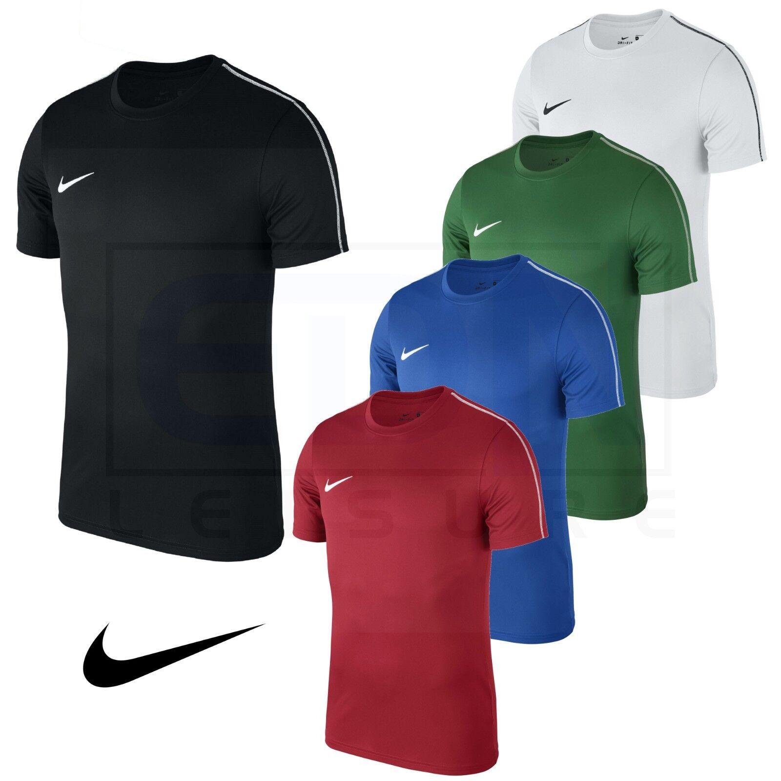 Détails sur Nike Homme T Shirt Football Haut d'entraînement gym Ventilé Sèche Dri Fit Taille S M L XL XXL afficher le titre d'origine