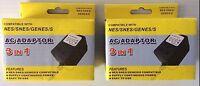 Lot Of 2 Super Nintendo Power Adaptor Free Shipping