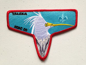 TALEKA-OA-LODGE-81-SCOUT-SERVICE-PATCH-FLAP-2006-NOAC-DELEGATE-PERFECT-MINT
