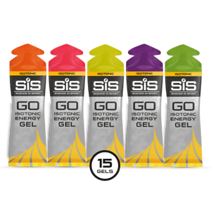 SiS GO Isotonic Energy Gel 15 Pack – Mixed