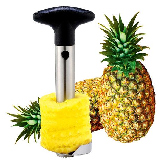 Pineapple Corer Slicer Cutter Peeler Stainless Steel Kitchen