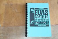 Elvis Costello / TOUR ITINERARY / USA Tour 1989 August - September
