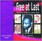 Free at Last: The Story of Martin Luther King by R. J. Owen, Brian Platt (Paperback, 1998)