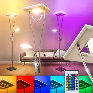 lampada terra piantana stelo luce salotto soggiorno led telecomando