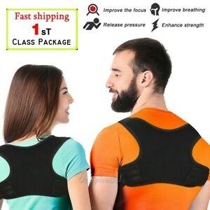 Adjustable-Posture-Corrector-Back-Shoulder-Support-Correct-For-KIDS-MEN-Women