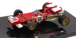 FERRARI 312B JACKY ICKX 1970 N.18 WINNER CANADIAN GP 1:43 - Hot Wheels Elite
