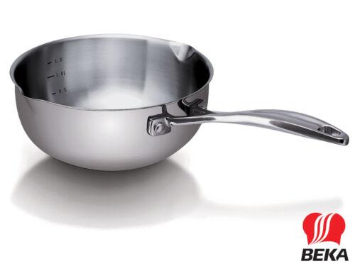 BEKA conique manche-Caisse rôle chef 20 cm en acier inoxydable Casserole induction