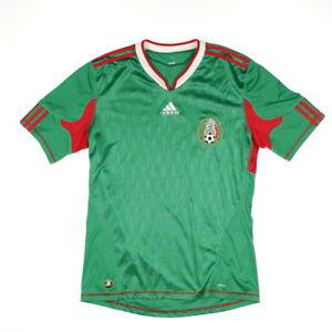 Mexico-WM-2010-adidas-futbol-camiseta-Jersey-Football-kit-camisa-World-Cup-M