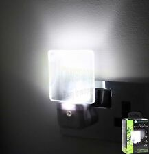 LED Night Light Plug In Auto Sensor Energy Saving Children Nursery Baby Safety