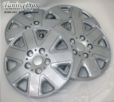 """4pcs Wheel Cover Rim Skin Covers 15/"""" Inch Style #B028A Hubcaps with Improved Tab"""