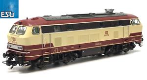 ESU-h0-AC-DC-31015-Locomotive-br-218-217-tee-PEINTURE-034-Sound-VAPEUR-034-NEUF-neuf-dans-sa-boite