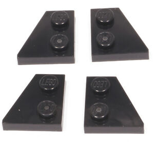 Lego - 4 X AILE, ailes plaque 2x2 noir (2 paires) 24299 24307 NEUF (a7)  </span>