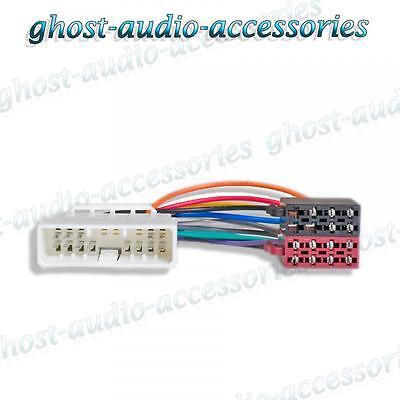 Cableado Conector Honda Jazz 2002 Radio ISO Adaptador estéreo arnés