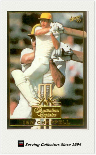 1997/98 Select Cricket Trading Cards Australian Captain-C8: Ian Chappell