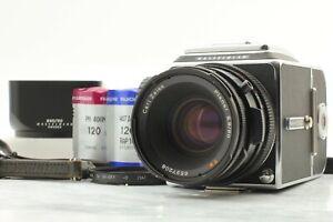 [ LOOK ] Hasselblad 500 CM C/M Camera CF T 80mm f2.8 Lens A12 II Film Back JP