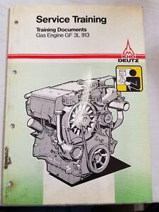 Khd Deutz Gf3l913 Industrial Engine Workshop Shop Service Training Manual Ebay