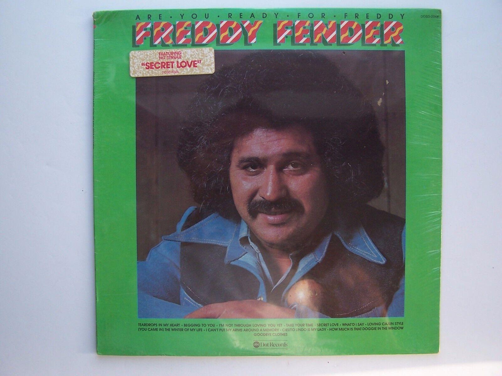 Freddy Fender - Are You Ready For Freddy Vinyl LP Recor